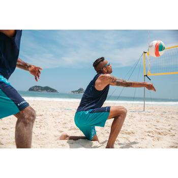 Beachvolleyshort voor heren BV 500 marineblauw