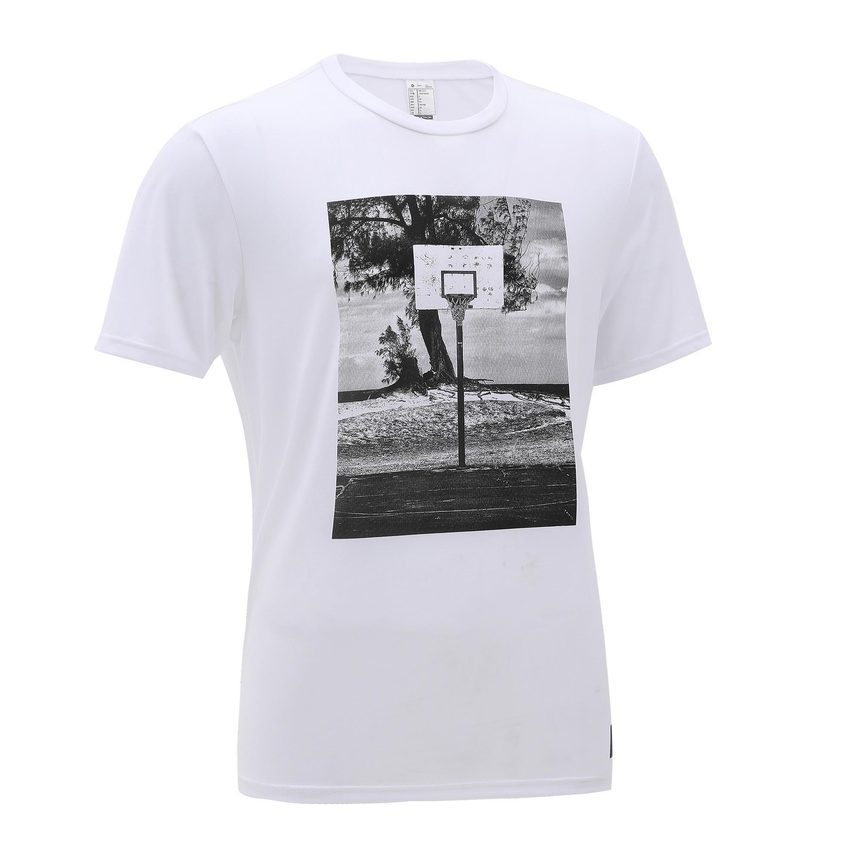 Basketballtrikot TS500 Herren weiß Foto | Sportbekleidung > Trikots > Basketballtrikots | Weiß | Tarmak
