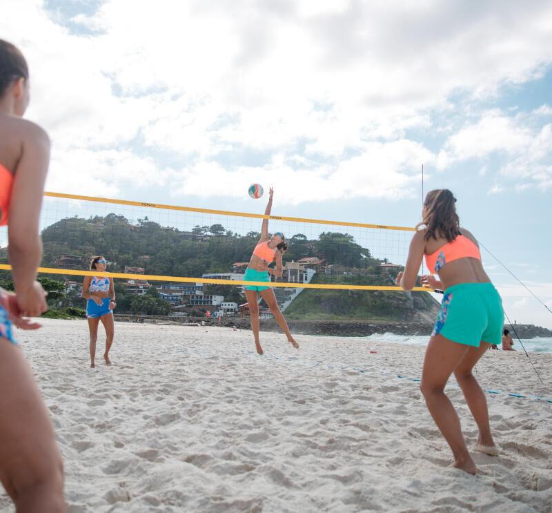 Quais são as regras do voleibol de praia?