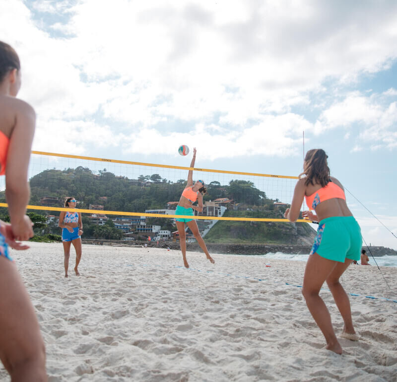 Beach volleyball rules
