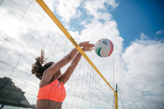 comment monter son filet de beach-volley BV900?
