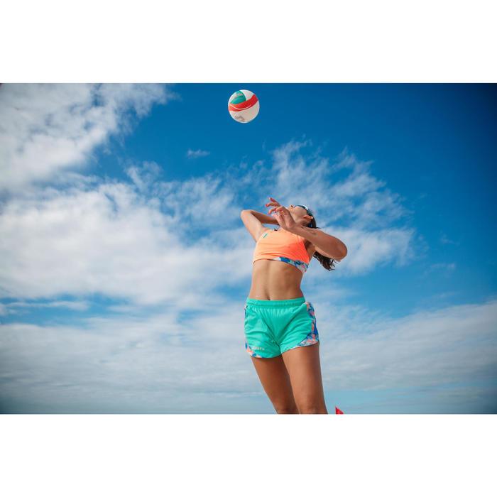 Top de vóley playa BV 500 naranja reversible