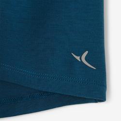 T-Shirt 500 Dry Babyturnen blau