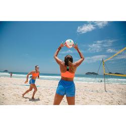 Short Vóley Playa Copaya BV500 Azul Mujer