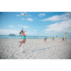 Set de beach-volley BV900 jaune