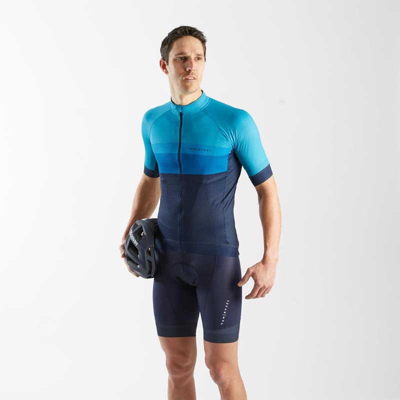 Road Sport Cycling Summer Jersey - Blue