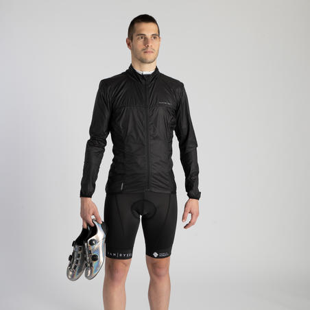 RCR Ultralight Packable Windproof Jacket - Black