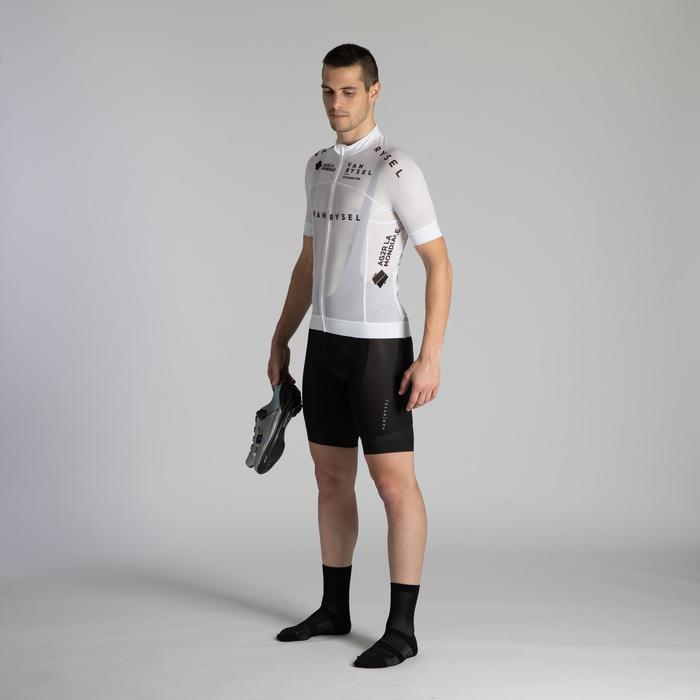 Wielershirt heren Ultralight racing mesh wit