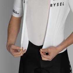 COMBINAISON VELO ROUTE VAN RYSEL RACER TEAM BLANCHE
