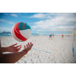 BV900 FIVB Beach Volleyball - White/Green/Red