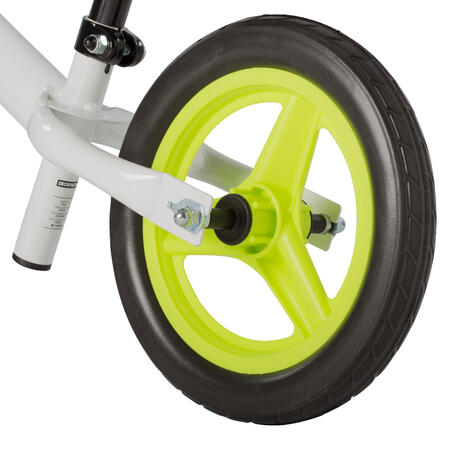 "Bērnu līdzsvara velosipēds ""RunRide 100"", 10 collas, balts"