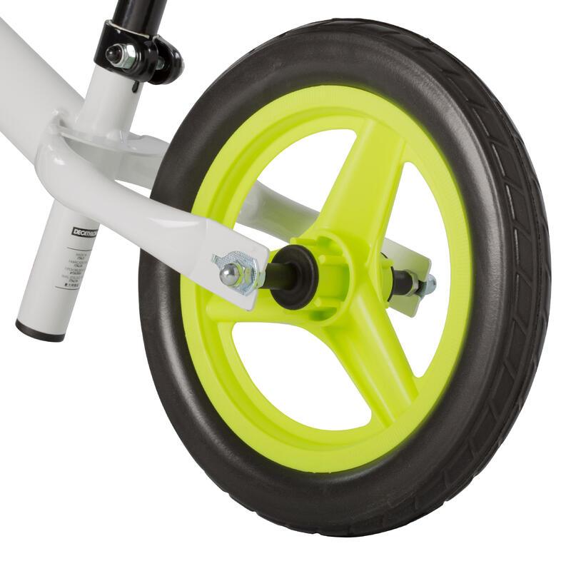 จักรยานทรงตัวสำหรับเด็กขนาด 10 นิ้ว รุ่น RunRide 100 (สีขาว)