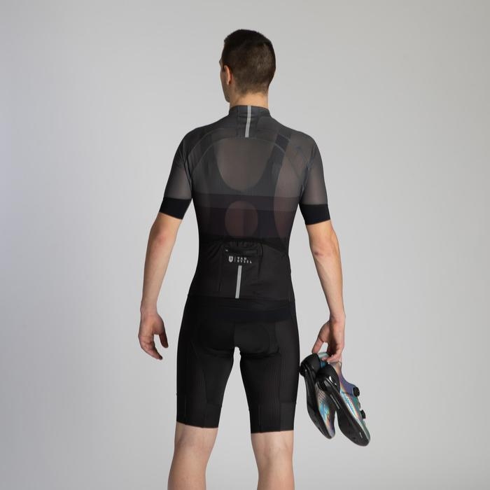 Wielershirt heren Ultralight racing mesh zwart