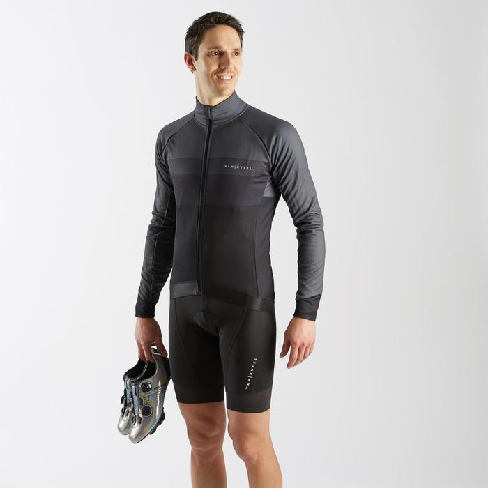 MAILLOT VELO ROUTE MANCHE LONGUE HOMME CYCLOSPORT