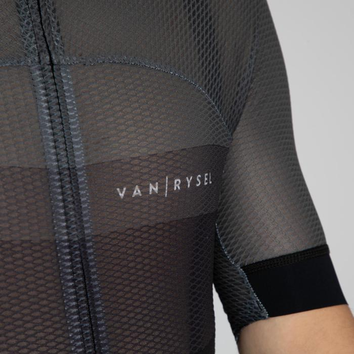 MAILLOT ULTRALIGHT VELO ROUTE ETE HOMME CYCLOSPORT GRIS