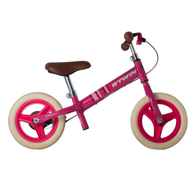 Run Ride City Kids' 10-Inch Balance Bike - Pink