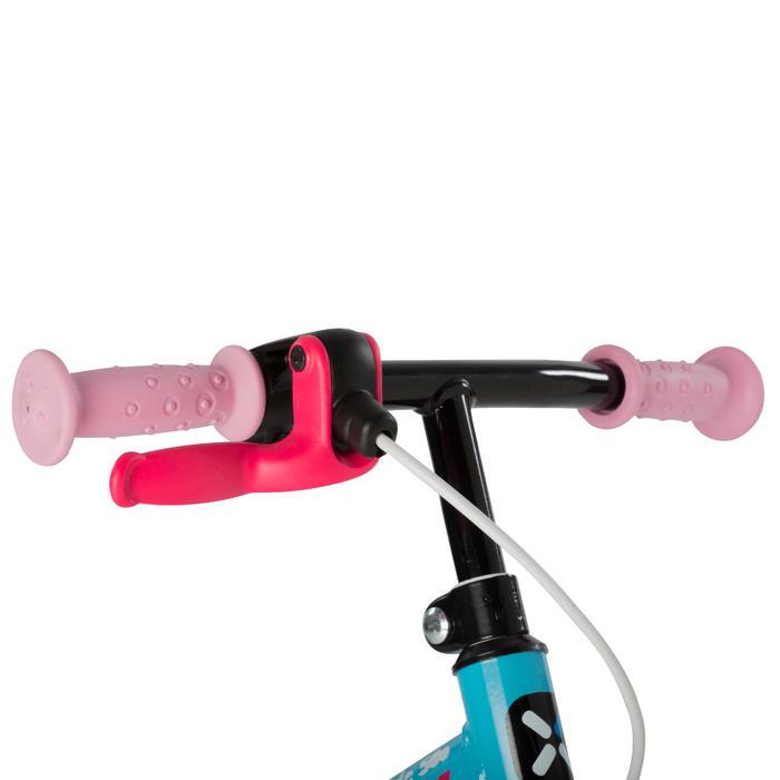 Loopfietsje voor kinderen 10 inch Run Ride 500 blauw en roze