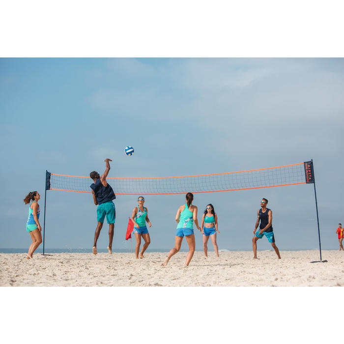 Volleybalnet / Beachvolleybalnet BV500 verstelbaar tot 9m breed