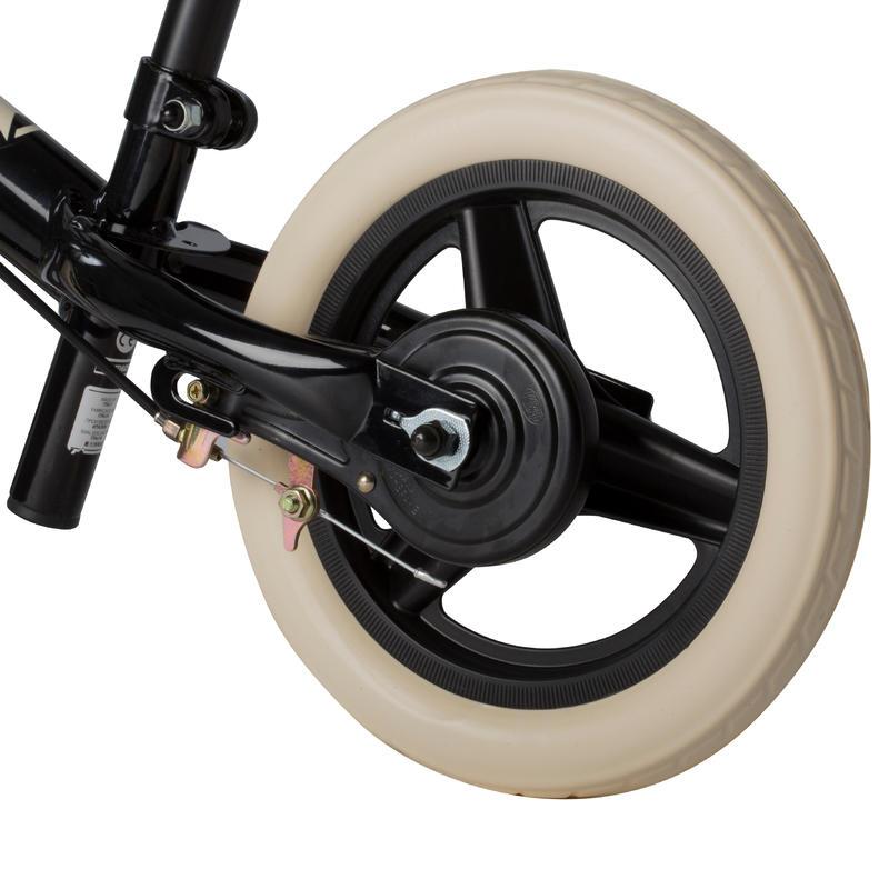 Kids' 10-Inch Balance Bike RunRide 520- Black
