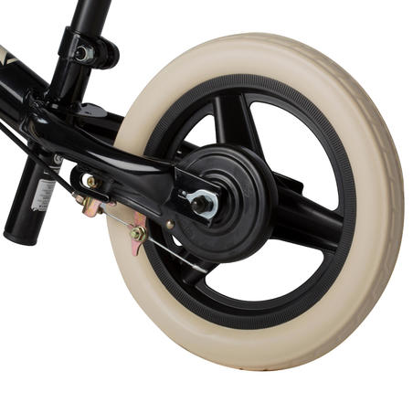 RunRide 520 Cruiser Children's 10-Inch Balance Bike - Black