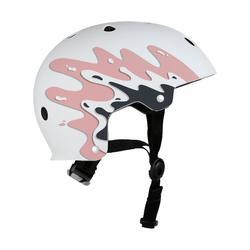 Helm voor skeeleren skateboarden steppen Play 7 Splash