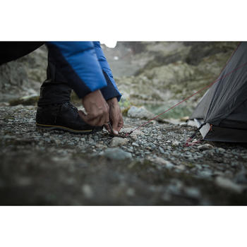 Non-anodised ultralight 10g tent pegs for trekking tents (x5)