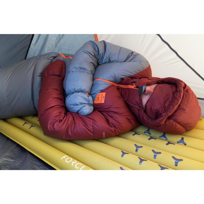 Sac de couchage veste Sleeping Suit - TREK 900 3° plume rouge gris