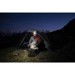 Slaapzak-jas Sleeping Suit Trek 900 10° veren rood/grijs