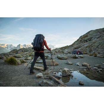Herenbroek voor bergtrekking Trek 900 donkergrijs