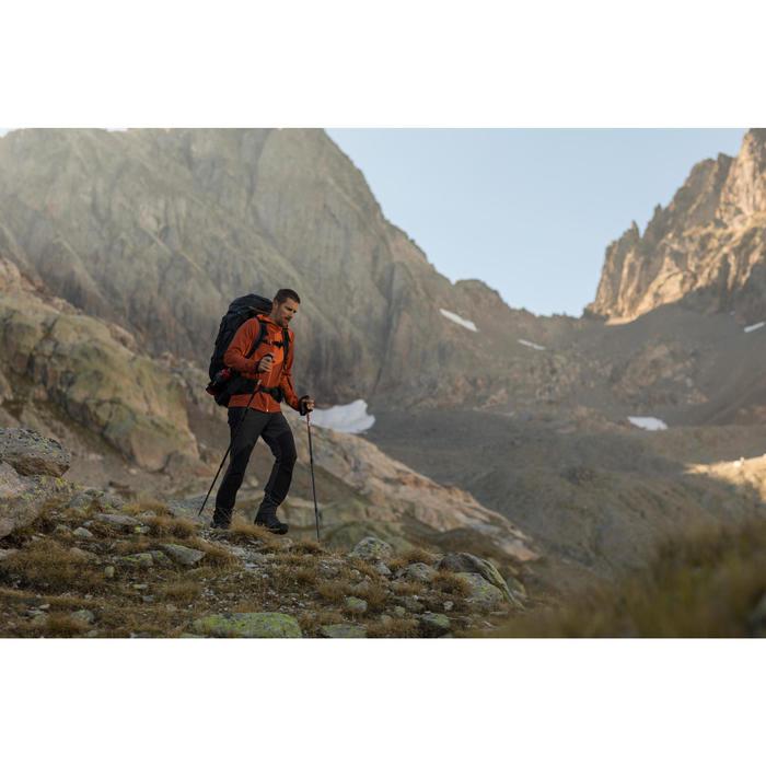 Broek voor bergtrekking heren Trek 900 donkergrijs