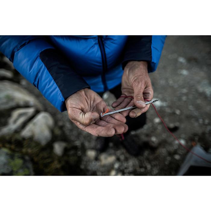 非陽極處理的極輕量10 g帳篷營釘(5入)