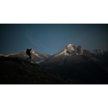 Oplaadbare hoofdlamp voor trekking Trek 900 geel usb 400 lumen