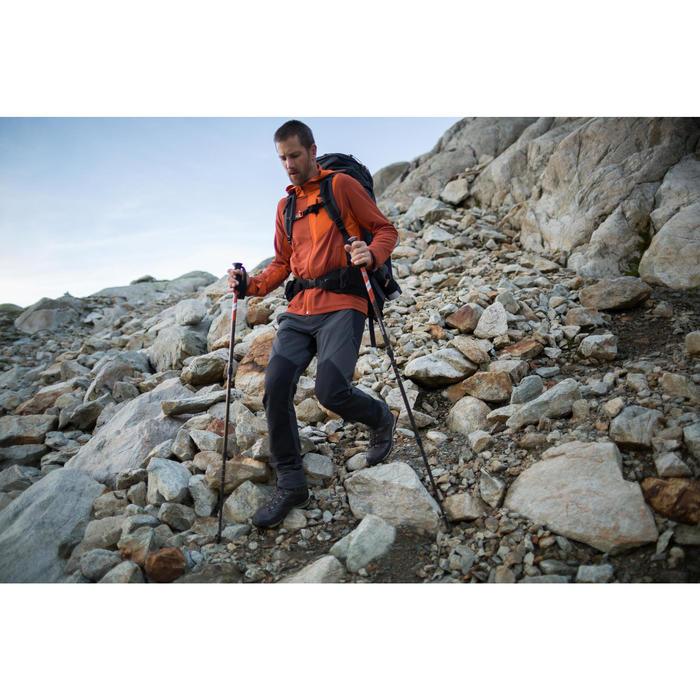 Pantalón de Montaña y Trekking Forclaz Trek 900 Hombre Negro