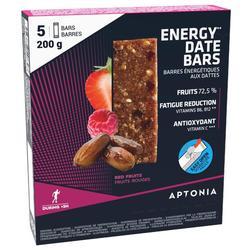 Barrita Energética Triatlón Aptonia Ultra Bars Dátiles Frutos Rojos 5 X 40 G