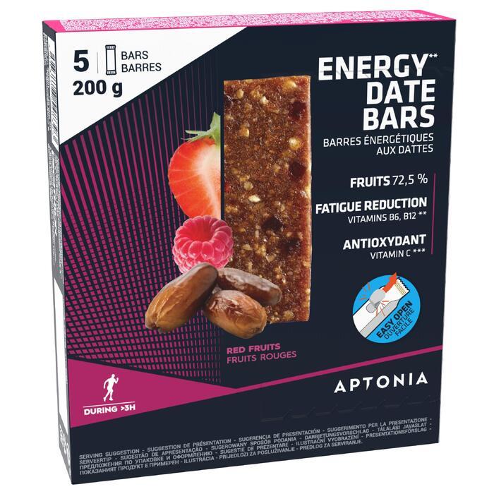 Energyriegel aus Datteln und roten Früchten 5 × 40 g