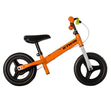 Run Ride 500 Kids' 10-Inch Balance Bike - Orange