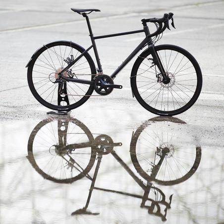 Cycle Touring Road Bike RC500 (Disc Brake) - Black