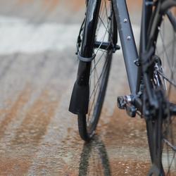 Rennrad Triban RC 500 schwarz (Scheibenbremse)