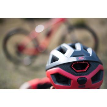 MTB-helm XC rood