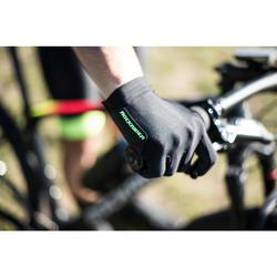Fahrradhandschuhe MTB XC Light schwarz