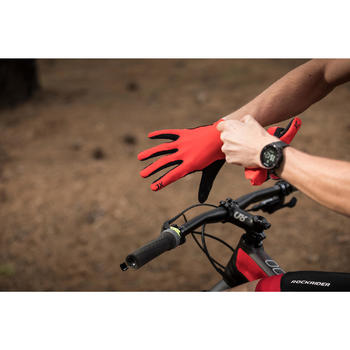 MTB-handschoenen XC Light rood