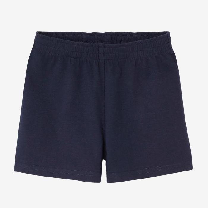 Shorts weit Basic Babyturnen marineblau