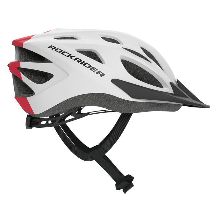MTB helm kind 500 wit/rood