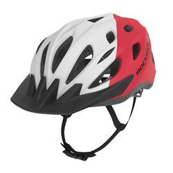 Fahrradhelm MTB 500 rot