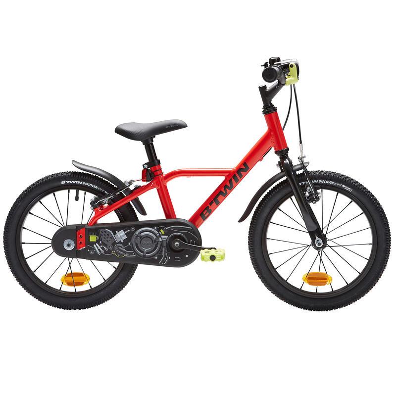 4-6 Years 16-Inch Aluminium Racing Bike 900 - Red