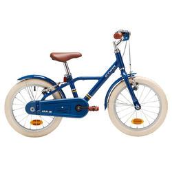Kinderfiets 16 inch 4,5-6 jaar 900 alu city blauw