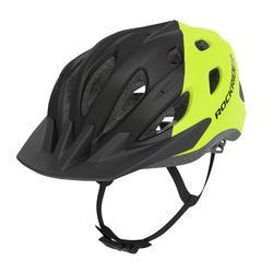 Fahrradhelm MTB 500 neon