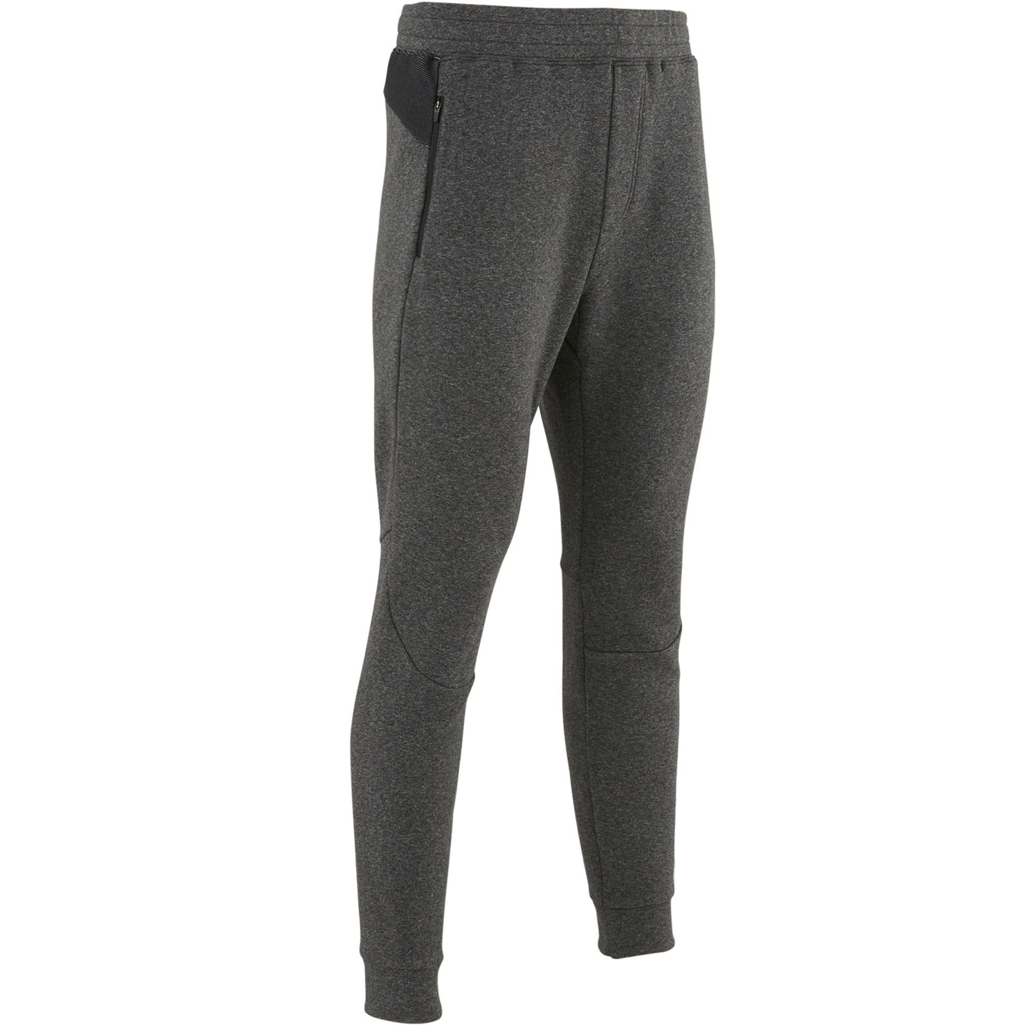 Pantaloni uomo gym pilates 580 grigio scuro  c8d55f77fd70
