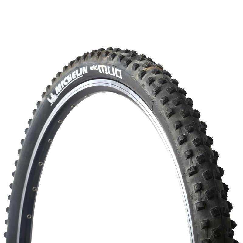 Opony do rowerów górskich Części rowerowe - Opona MTB WILDMUD 27,5x2,0 TLR MICHELIN - Części rowerowe