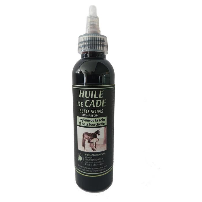 Aceite de enebro cascos equitación caballo y poni ELFO-SOINS DU MARÉCHAL 125 ml